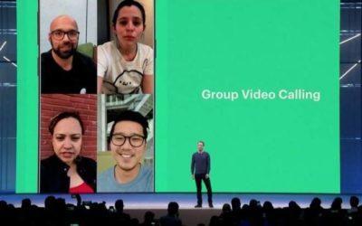 Zuckerberg confirma que WhatsApp vai ganhar stickers e videochamadas em grupo